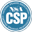 NSA Certified Speaking Professional Designation - Dr. Jerry Teplitz, CSP